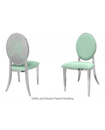 Mr. Chair (Silver-Mint)