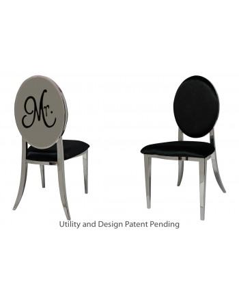 Mr. Chair (Silver-Black)