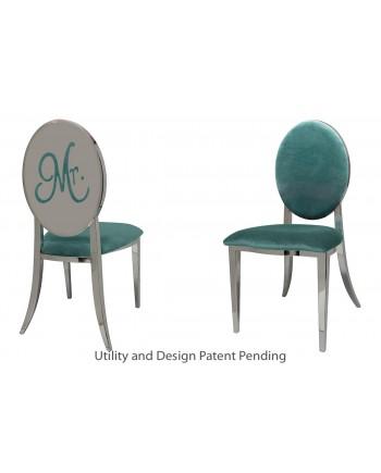 Mr. Chair (Silver-Tiffany)