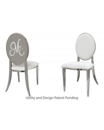 Mr. Chair (Silver-White)
