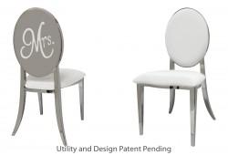 Mrs. Chair (Silver)