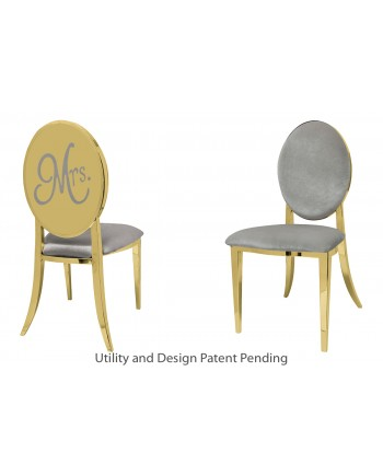 Mrs. Chair (Gold-Silver)