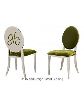 Mrs. Chair (Silver-Moss)