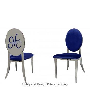 Mrs. Chair (Silver-Royal)