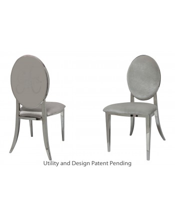 Mrs. Chair (Silver-Silver)