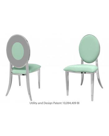 Oz Plus Chair (Silver-Mint)