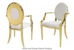 Oz Plus Armchair (Gold)