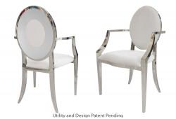 Oz Plus Armchair (Silver)