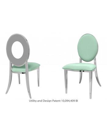 Oz Chair (Silver-Mint)