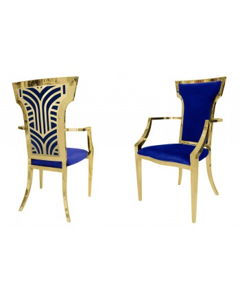 Rockefeller Armchair (Gold-Royal)
