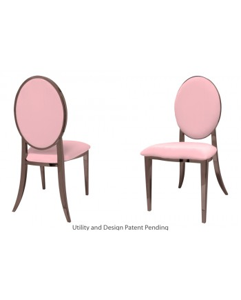 Tiffany Chair (Rose Gold-Pink)