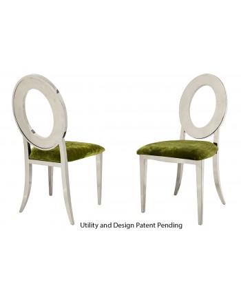 Oz Chair (Silver-Moss)