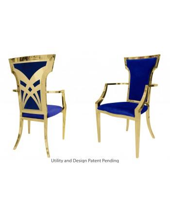 Titan Armchair (Gold-Royal)