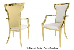 Wings Armchair (Gold)