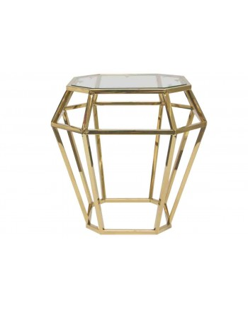 Reflection End Table Gem (Gold)