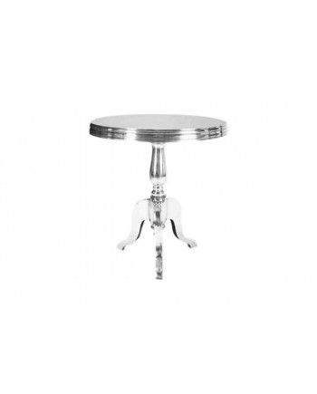 Reflection End Table (Three Legs Base) (Silver)