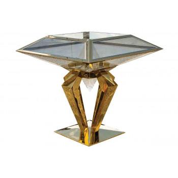 Reflection Highboy Table Diamond