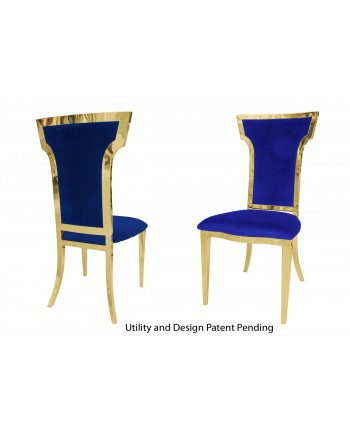 Cornelius Chair (Gold-Royal)
