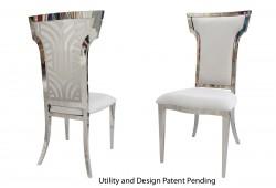 Rockefeller Chair (Silver)