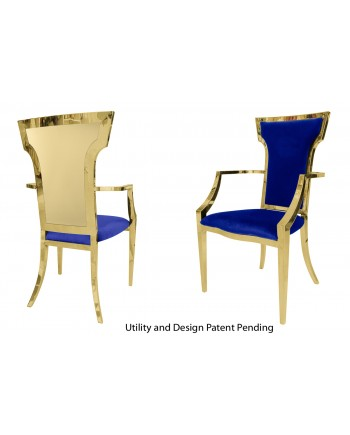 Reflection ArmChair Wings (Gold-Royal)