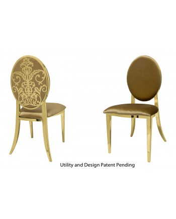 Dior Chair (Gold-Gold)