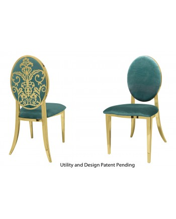 Dior Chair (Gold-Tiffany)