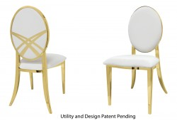 Lasso Chair (Gold)