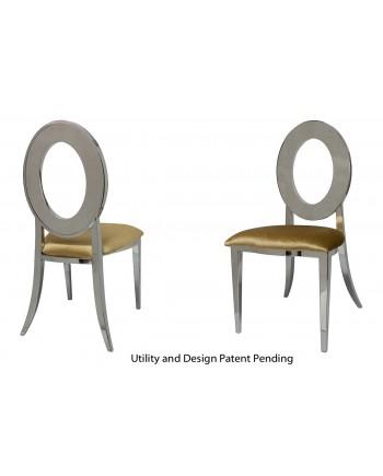 Oz Chair (Silver-Gold)