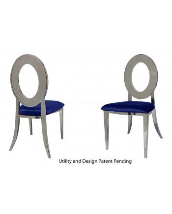 Oz Chair (Silver-Royal)