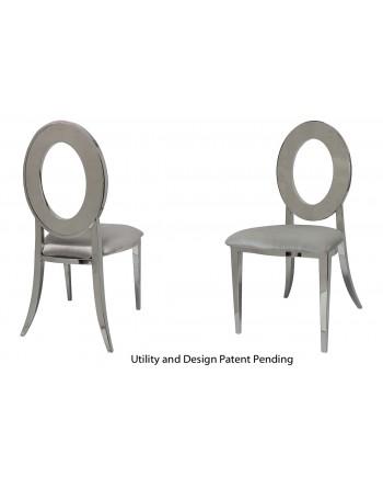Oz Chair (Silver-Silver)