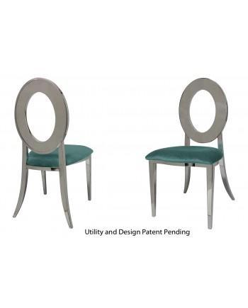 Oz Chair (Silver-Tiffany)
