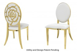 Rose Chair (Gold)