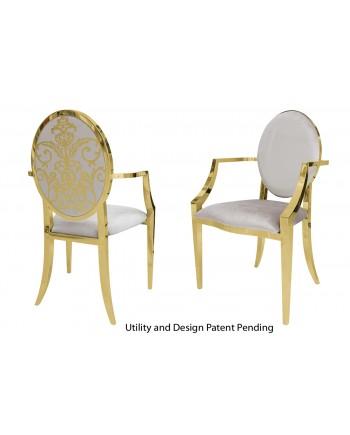 Dior Armchair (Gold-Silver)