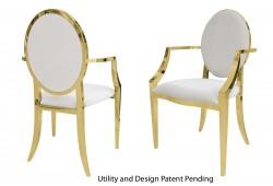 Tiffany Armchair (Gold)