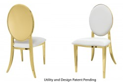 Round Chair (Gold)