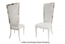 Valentino Chair (Silver)
