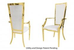 Vanderbilt Armchair (Gold)