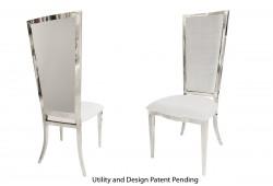 Rectangular Chair (Silver)