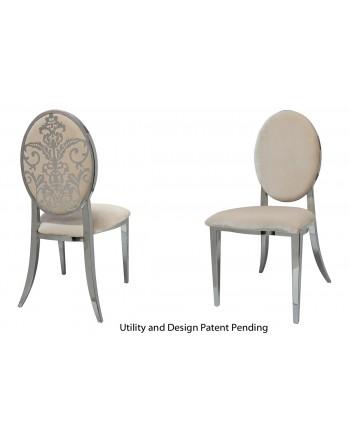 Dior Chair (Silver-Champagne)