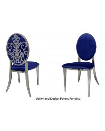 Dior Chair (Silver-Royal)