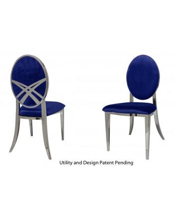 Lasso Chair (Silver-Royal)