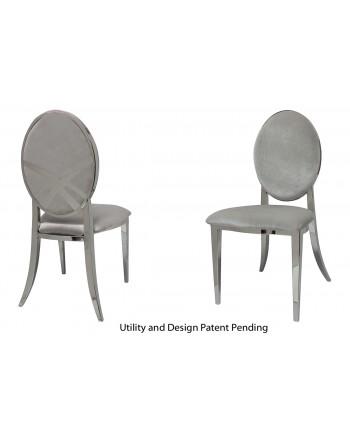 Lasso Chair (Silver-Silver)