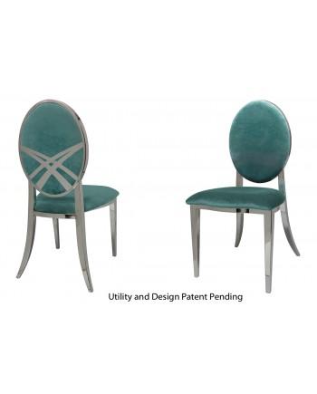 Lasso Chair (Silver-Tiffany)