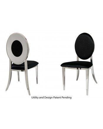 Oz Plus Chair (Silver-Black)