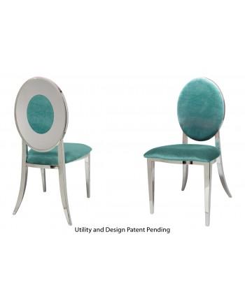 Oz Plus Chair (Silver-Tiffany)