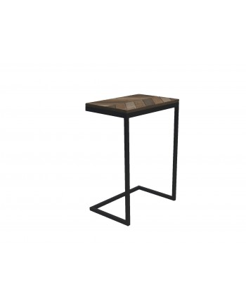 Vintage Bighorn Accent Table