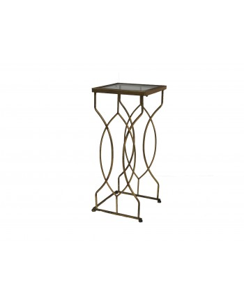 Vintage Zinnia End Table