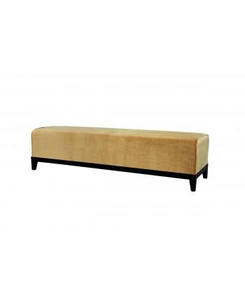 Velvet Bench (Gold)