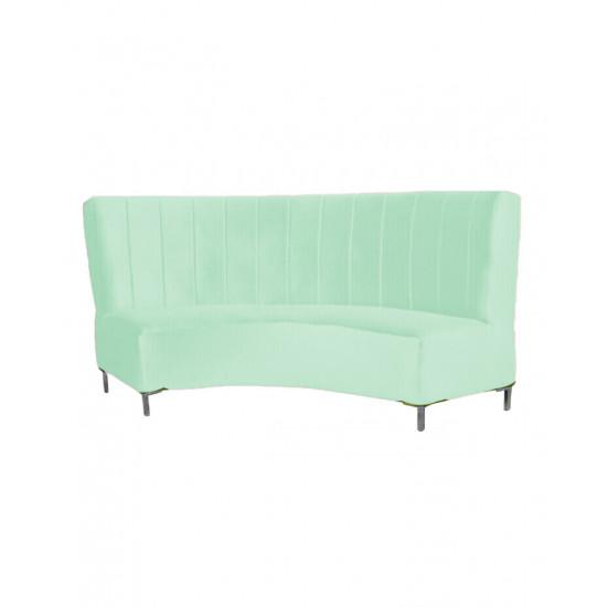 Velvet Curve Sofa 9'