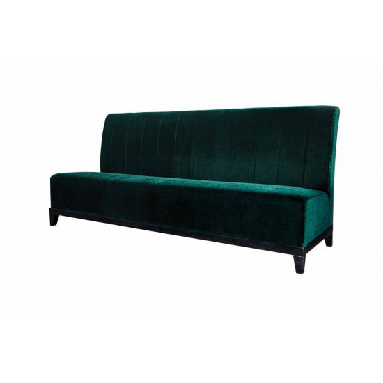 Velvet Sofa 7' with Lines